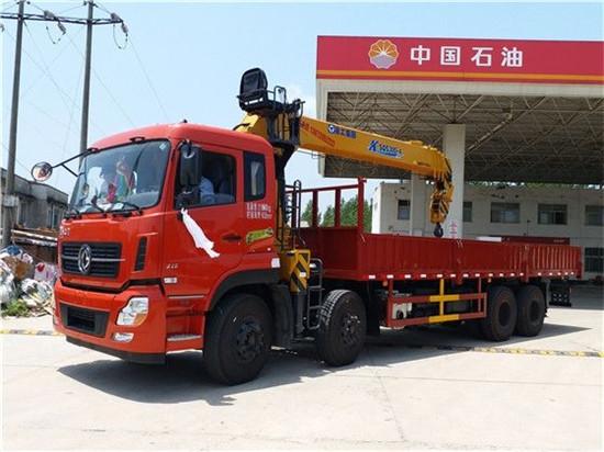 东风天龙16吨徐工随车吊