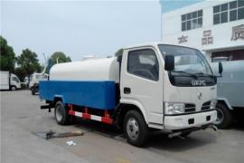 杭州邹先生、王总订购东风多利卡4吨高压清洗车