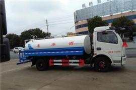 湖南邹总订购的东风大多利卡8吨洒水车顺利发车