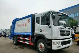 D9东风10方压缩式垃圾车