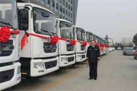 某军区部门采购13台东风D9压缩垃圾车