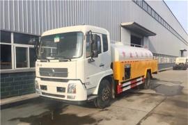西安刘总订购东风天锦10吨高压清洗车