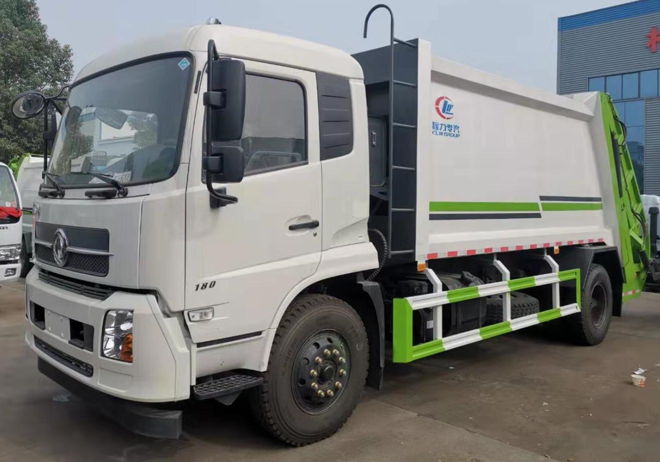 东风天锦14方压缩式垃圾车