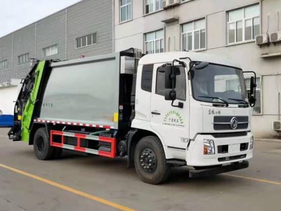东风天锦12方压缩垃圾车价格