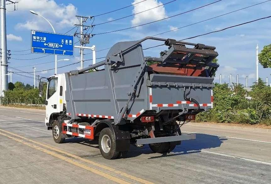 程力压缩垃圾车