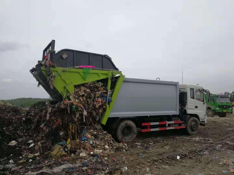 垃圾分类运输车
