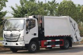 福田欧马可国六6-8方压缩垃圾车