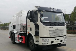 一汽解放J6L8-10方国六餐厨垃圾车