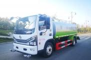恭喜杭州李总订购一辆东风10吨洒水车
