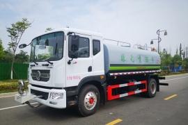东风D9康机230马力15吨洒水车价格